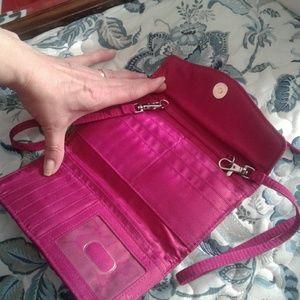 Vera Bradley crossbody wallet new